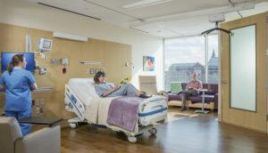 UVMMC Patient Room