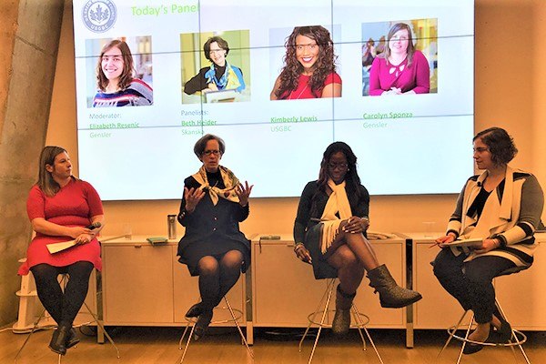 USGBC Women in Green panel discussion